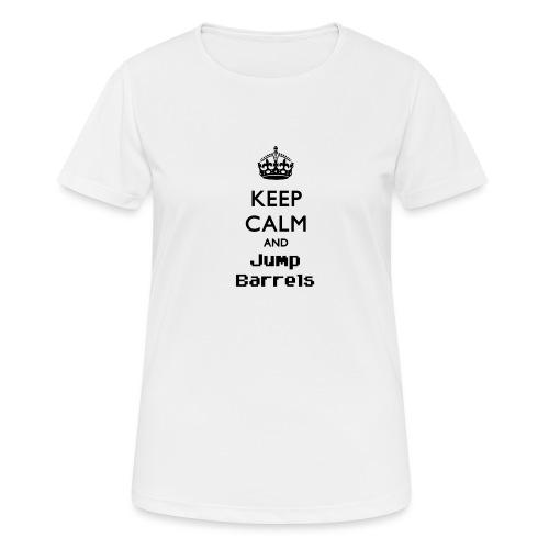 Jump Barrels - Camiseta mujer transpirable