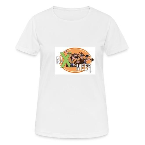 nixenmeer - Vrouwen T-shirt ademend actief