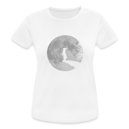 rabbit_wolf-png - Women's Breathable T-Shirt