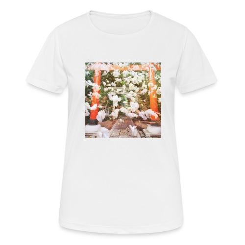 見ぬが花 Imagination is more beautiful than vi - Women's Breathable T-Shirt