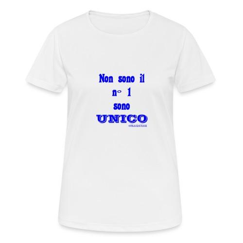 Unico #FRASIMTIME - Maglietta da donna traspirante