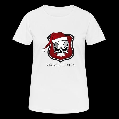 CrossFit Tuusula Xmas - naisten tekninen t-paita