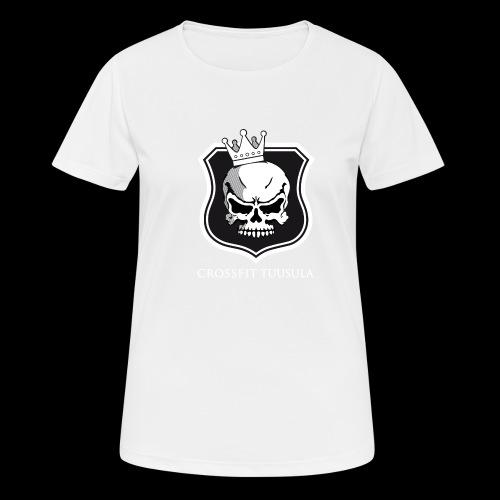 CrossFit Tuusula BW - naisten tekninen t-paita