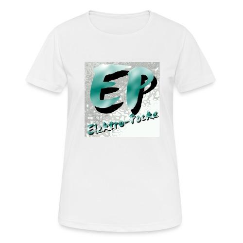 Elektro-Pocke T-Shirt Premium - Frauen T-Shirt atmungsaktiv