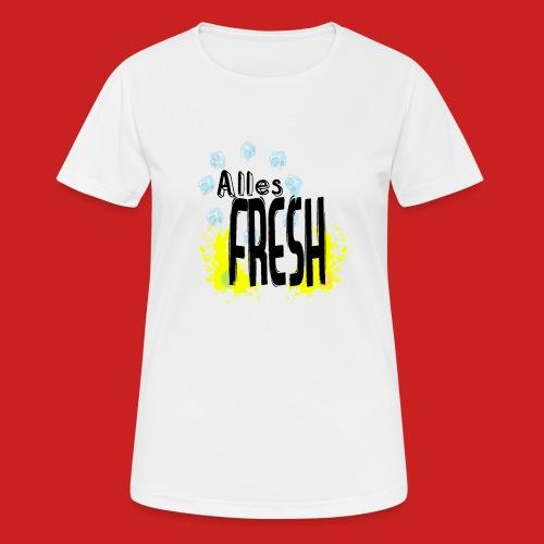 Alles Fresh / Frisch Sommer Eis - Frauen T-Shirt atmungsaktiv