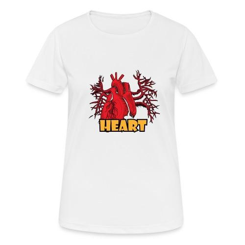 HEART - Maglietta da donna traspirante
