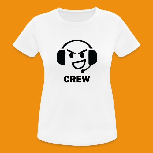 T-shirt-front - Dame T-shirt svedtransporterende