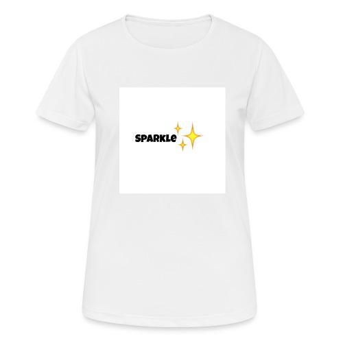sparkle - vrouwen T-shirt ademend