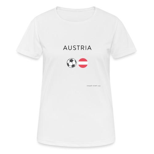 Austria Fußball - Frauen T-Shirt atmungsaktiv
