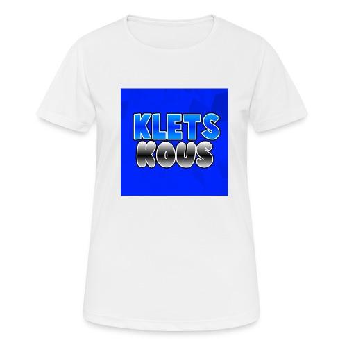 Kletskous Muismat - vrouwen T-shirt ademend