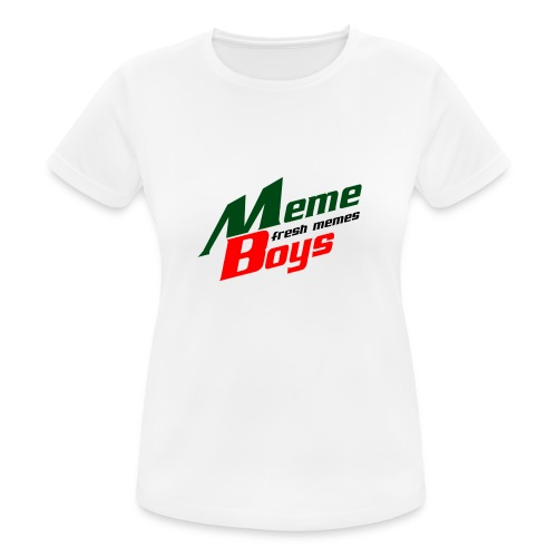 Memeboys Logo Shirt - Women's Breathable T-Shirt