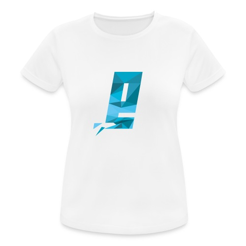 Eventuell Logo small - Shirt White - Frauen T-Shirt atmungsaktiv