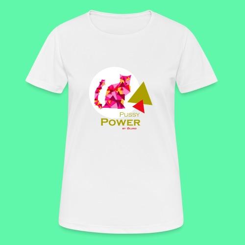 Pussy Power - Dame T-shirt svedtransporterende