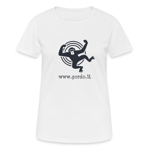 Psychedelic Ape - Gordo collection promotional - Maglietta da donna traspirante