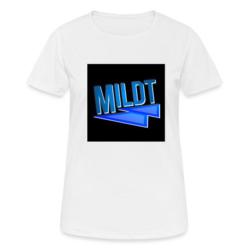 MILDT Muismat - Vrouwen T-shirt ademend actief