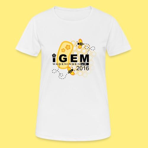 Logo - shirt men - Vrouwen T-shirt ademend actief