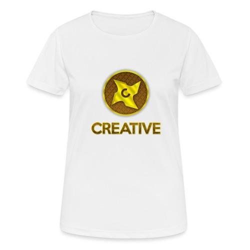 Creative logo shirt - Dame T-shirt svedtransporterende