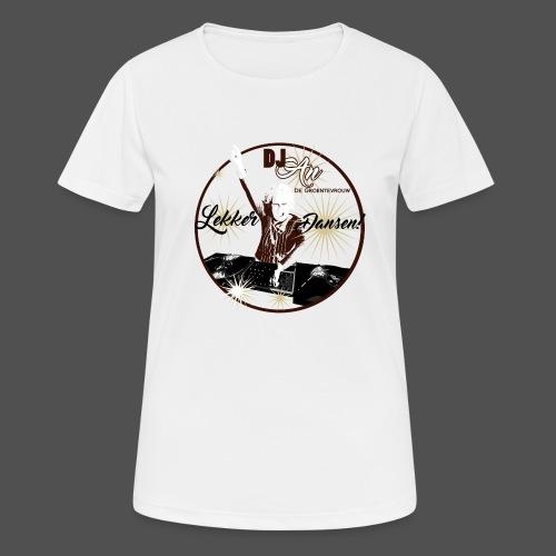 DJ An - Vrouwen T-shirt ademend actief
