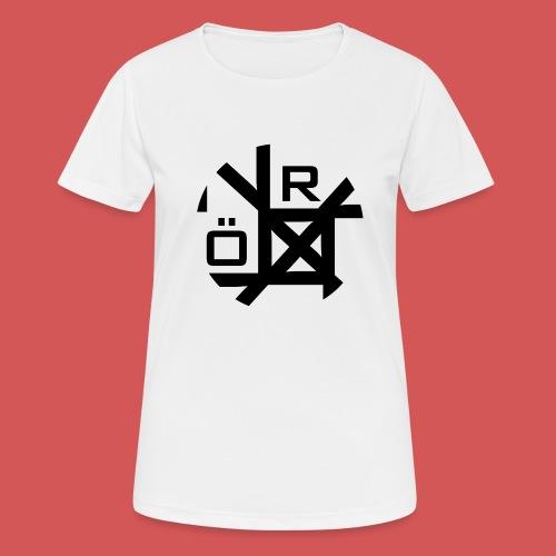 Nörthstat Group™ TecH   iCon - WHT.Knapsack - Women's Breathable T-Shirt