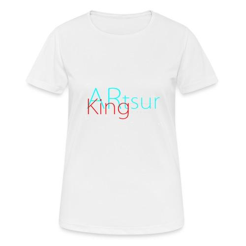 ARtsurKing Logo - Women's Breathable T-Shirt