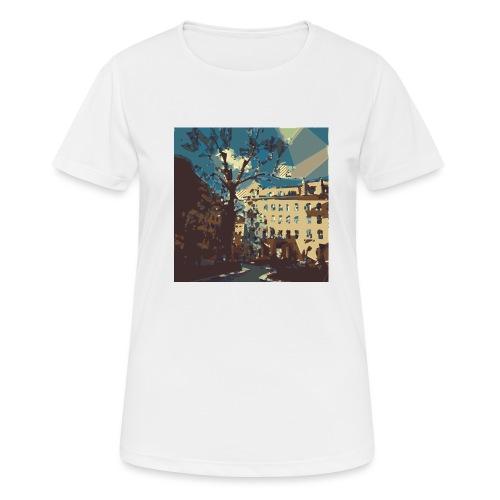 Abstrakt Budapest - Frauen T-Shirt atmungsaktiv