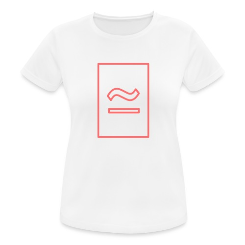 The Commercial Logo (Salmon Outline) - Women's Breathable T-Shirt