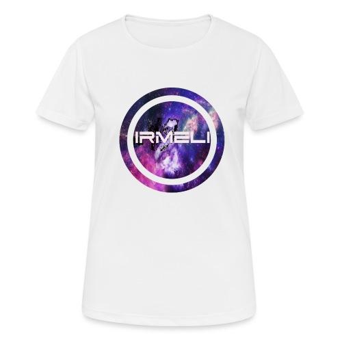 GALAXY LOGO - naisten tekninen t-paita