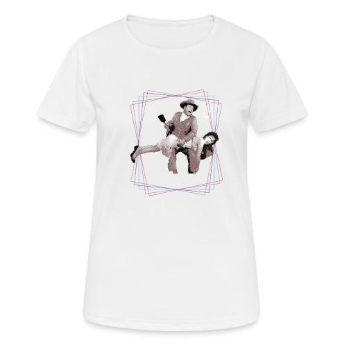 Spanking John Wayne - Frauen T-Shirt atmungsaktiv