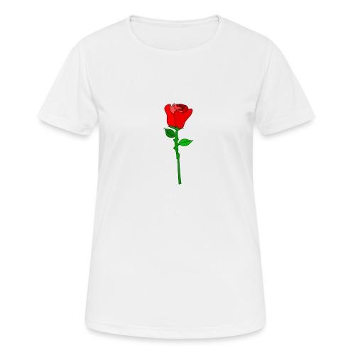 ROSE - Frauen T-Shirt atmungsaktiv