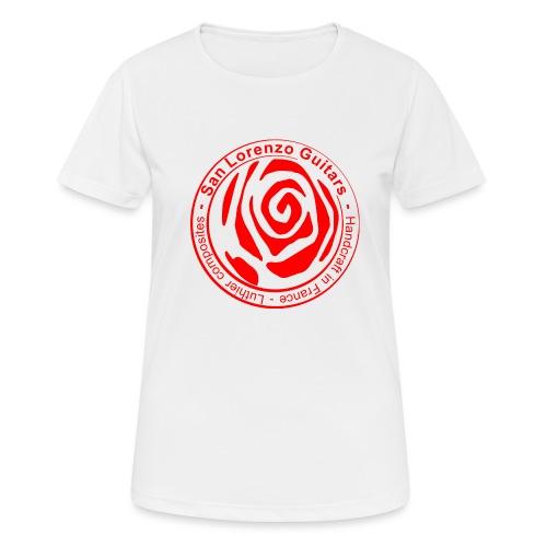 San Lorenzo Guitars - T-shirt respirant Femme