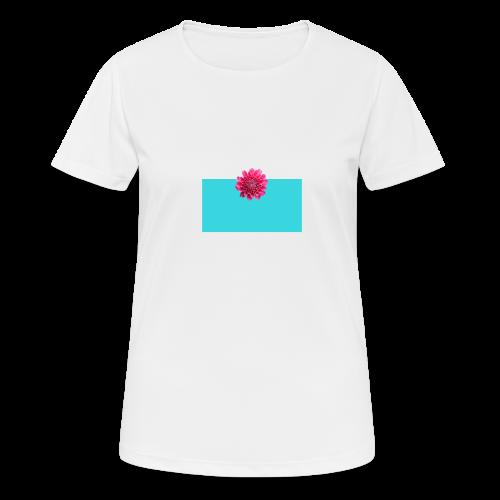 flower - Pustende T-skjorte for kvinner