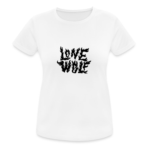 Lone Wolf - T-shirt respirant Femme