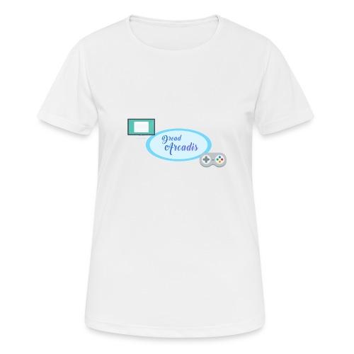 DreadChannel - T-shirt respirant Femme