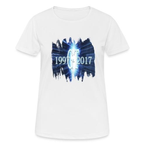 GuttaTur 20 years - Pustende T-skjorte for kvinner