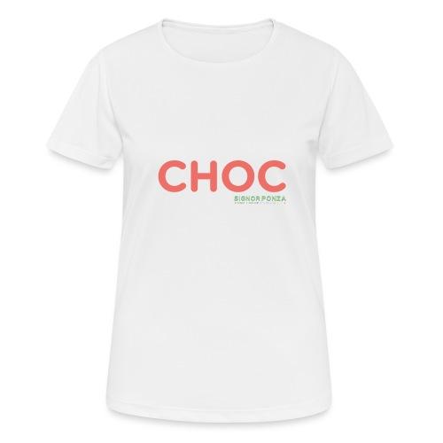 CHOC 2 - Maglietta da donna traspirante