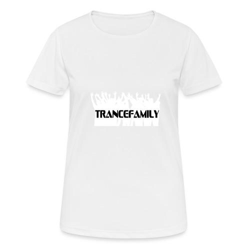 trancefamily - Andningsaktiv T-shirt dam