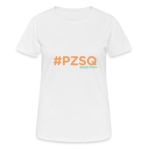 PZSQ 2 - Maglietta da donna traspirante