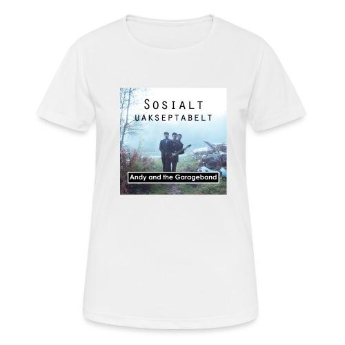 Sosialt Uakseptabelt - Pustende T-skjorte for kvinner