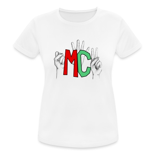 Logo vuoto iMorracinese - Maglietta da donna traspirante