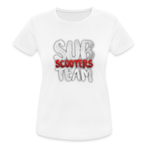 Sub scooters Team - vrouwen T-shirt ademend