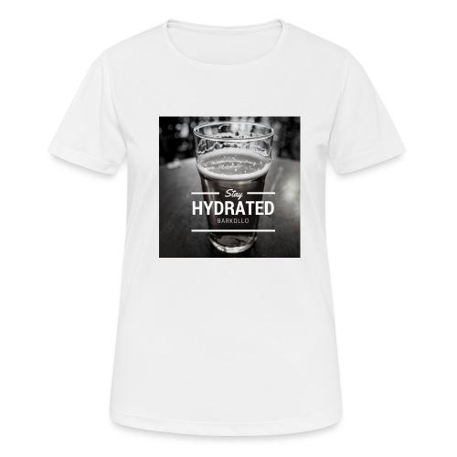Stay Hydrated beer - Maglietta da donna traspirante