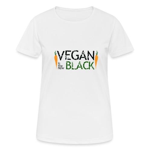 Vegan is the new black - Camiseta mujer transpirable