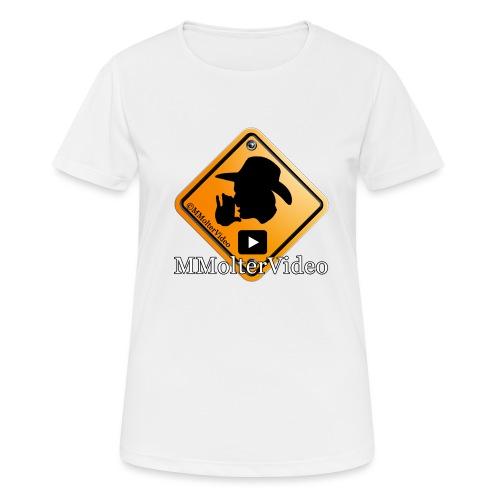 Logo MMolterVideo - Frauen T-Shirt atmungsaktiv