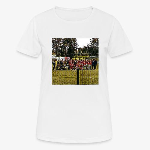 Footbal Match Squadre Calcio - Maglietta da donna traspirante