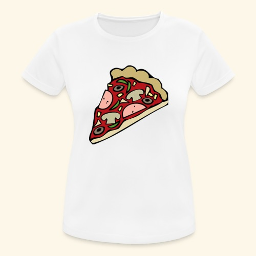 Pizza - T-shirt respirant Femme