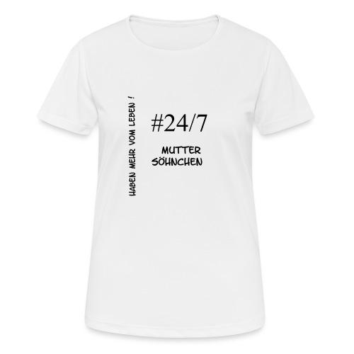 Muttersöhnchen - Frauen T-Shirt atmungsaktiv