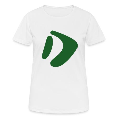 Logo D Green DomesSport - Frauen T-Shirt atmungsaktiv