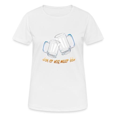 Doe er nog maar een Shirt png - Vrouwen T-shirt ademend actief