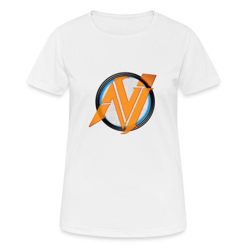 invi.rocks Logo - Frauen T-Shirt atmungsaktiv
