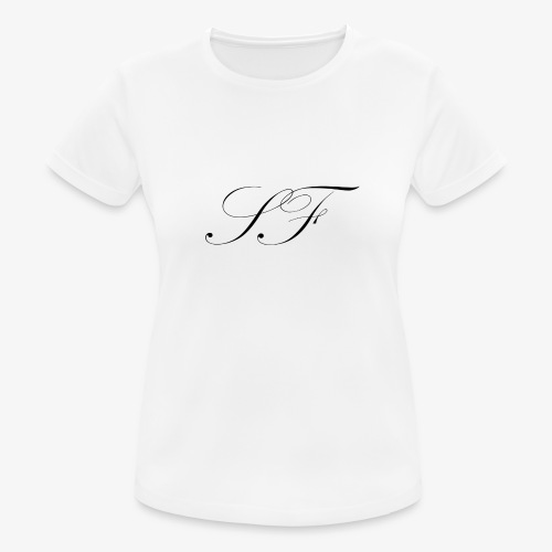 SF HANDWRITTEN LOGO BLACK - Women's Breathable T-Shirt